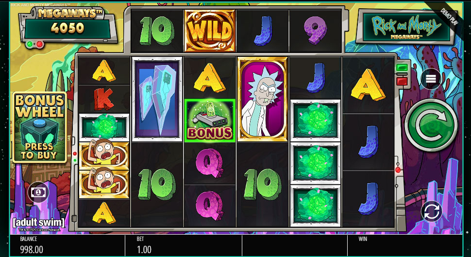 Rick and morty online slot