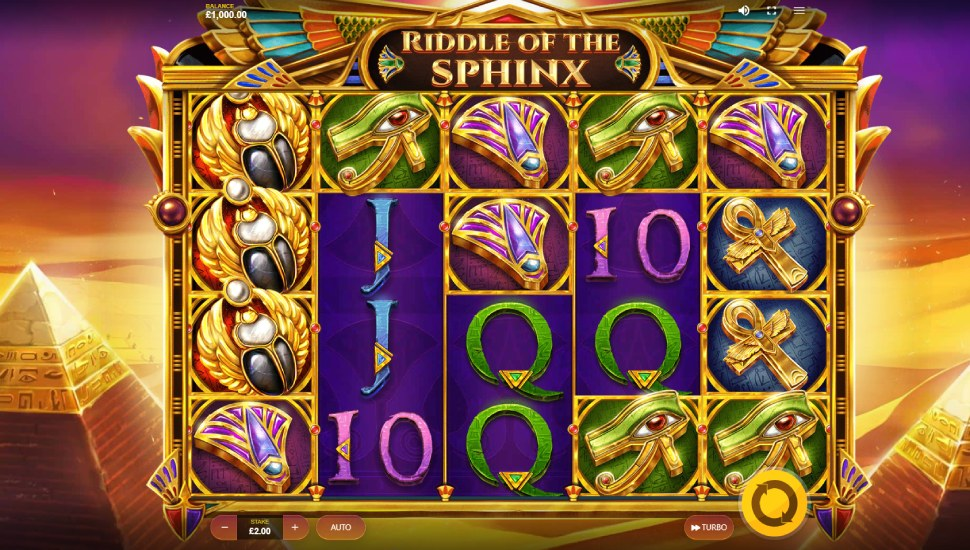 Riddle Of The Sphinx - Slot