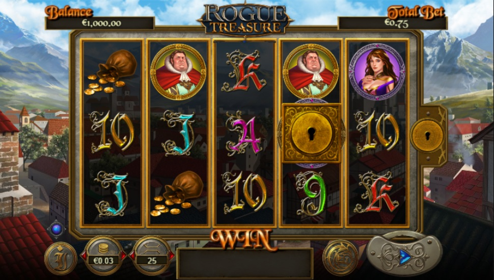 Rogue Treasure - Slot