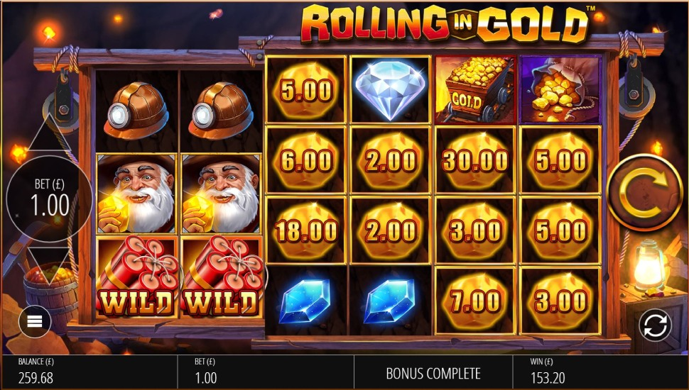 Rolling In Gold - Slot