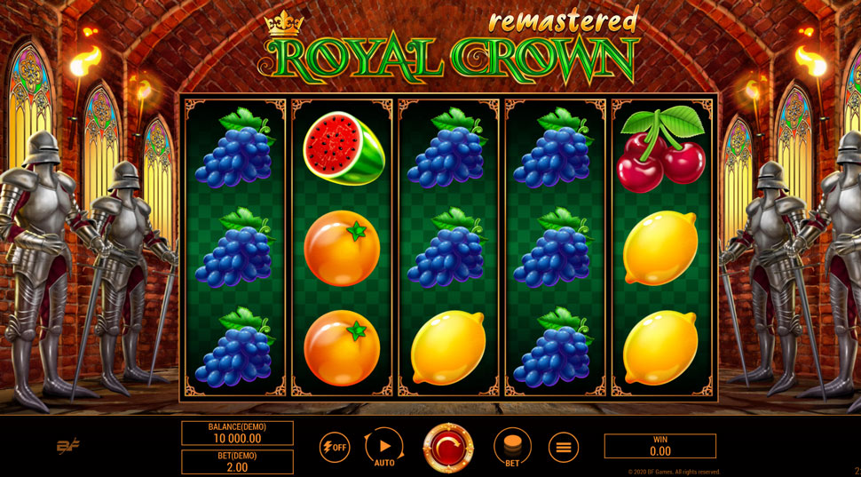 Royal Crown Remastered - Slot