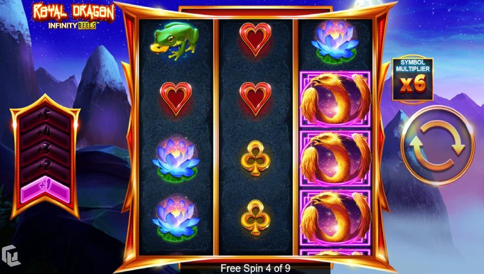 Royal Dragon Infinity Reels - Bonus Features