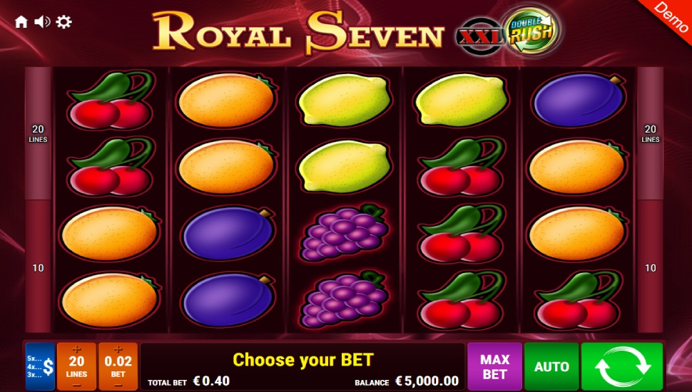 Royal Seven XXL Double Rush - Slot
