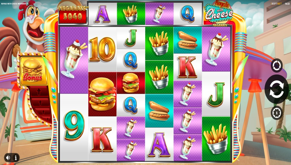 Royale with Cheese Megaways - Slot