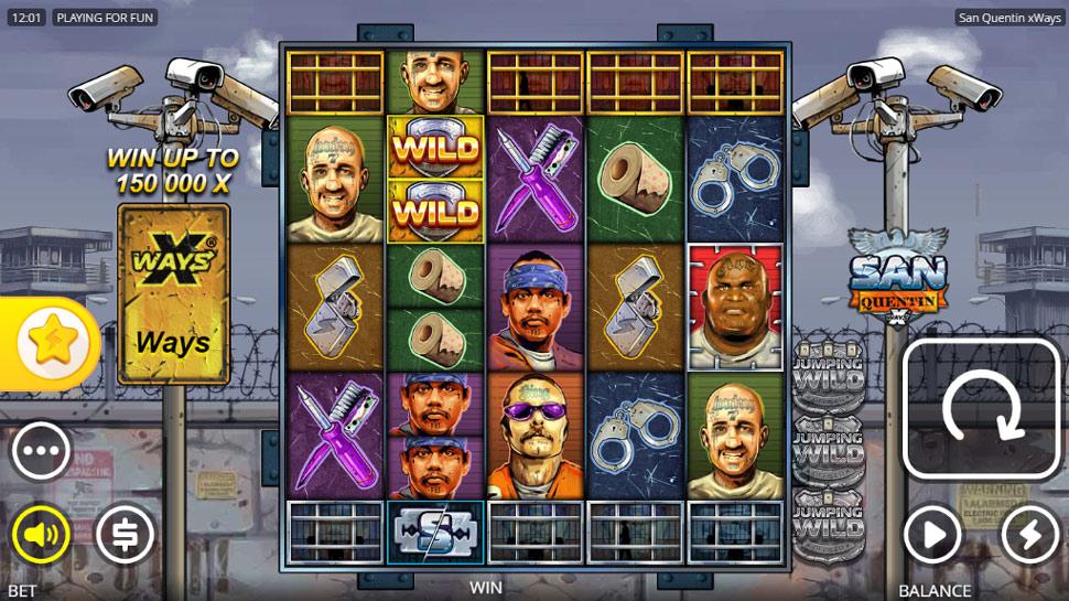 San Quentin XWays - Slot
