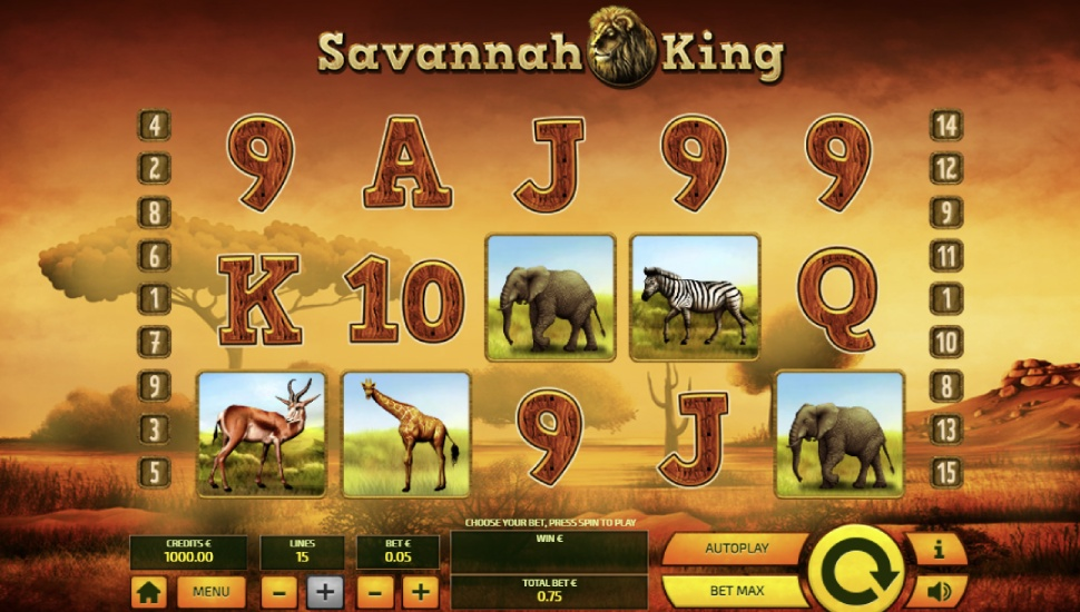 Savannah King - Slot