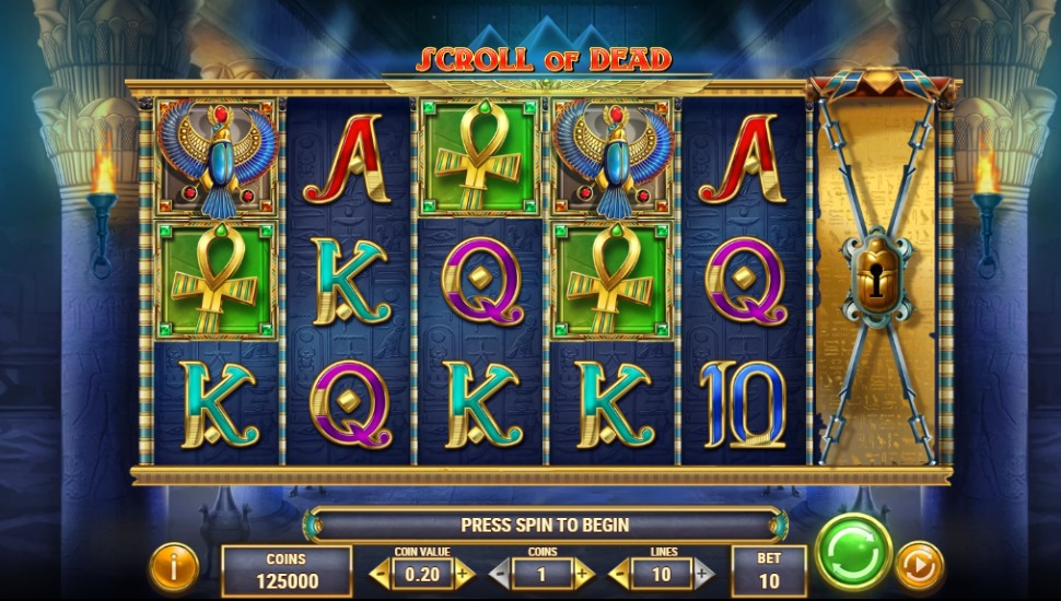 Scroll of Dead - Slot