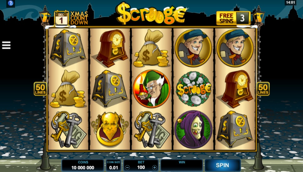 Scrooge - Slot
