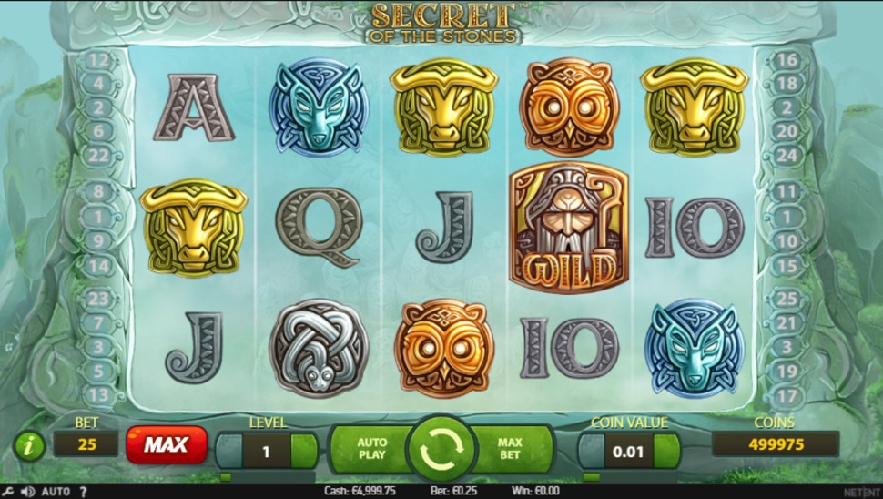 Secret of the Stones online slot