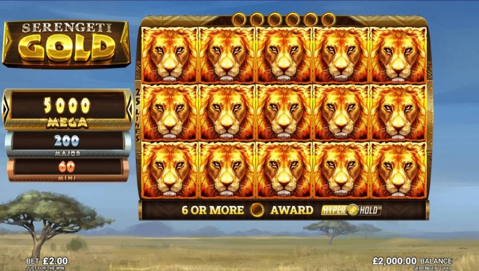 Serengeti Gold - Bonus Features