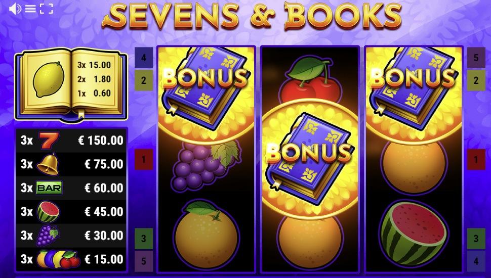 Sevens & Books - Bonus Features