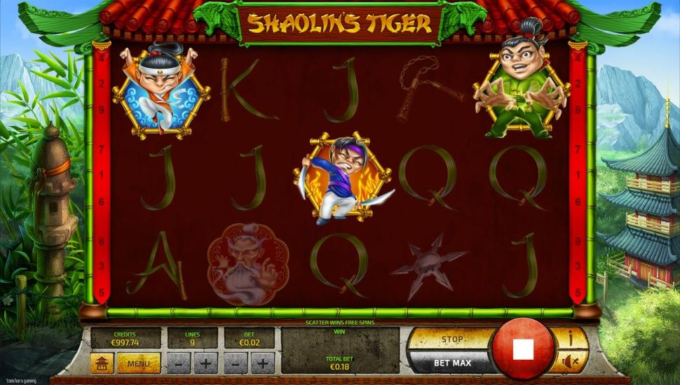 Shaolin's Tiger - Bonus Features