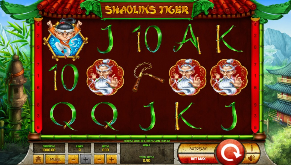 Shaolin's Tiger - Slot