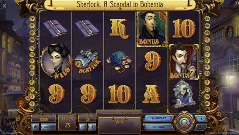 Sherlock - A Scandal in Bohemia - slot
