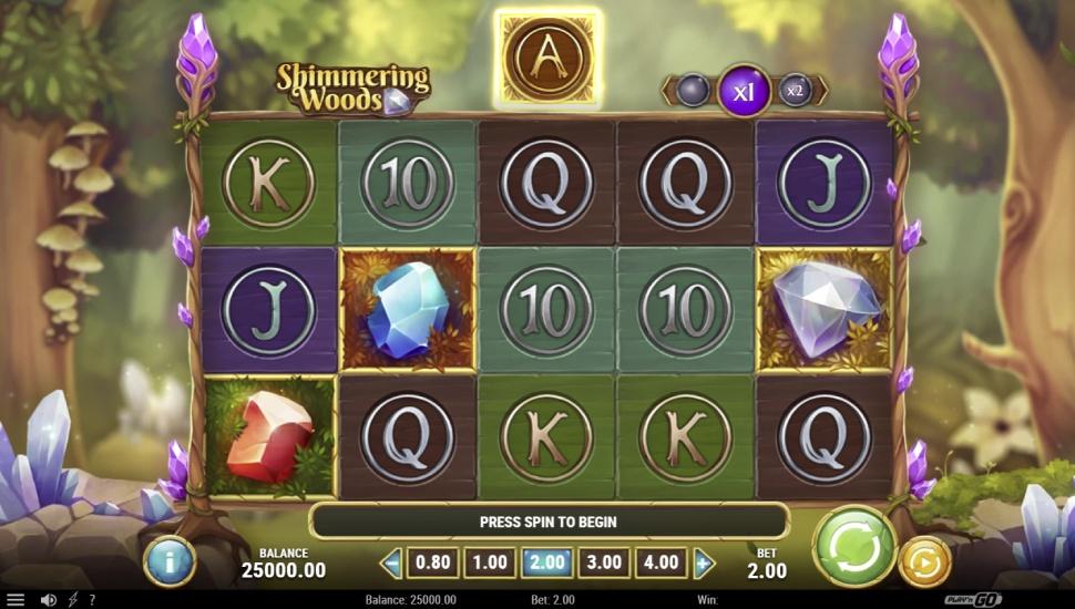 Shimmering Woods - Slot