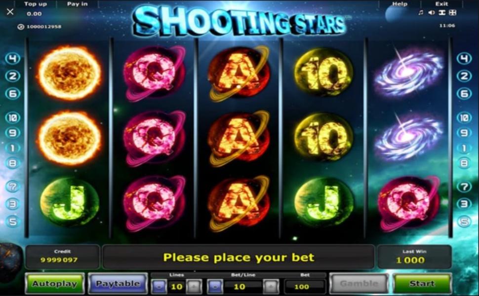Shooting Stars - Slot