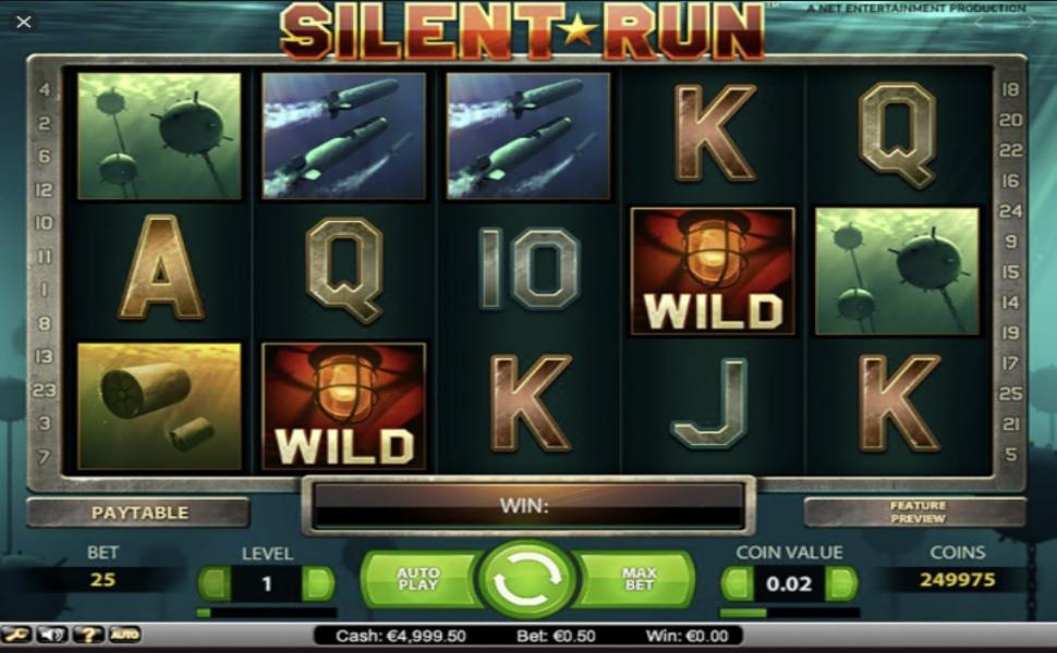Silent Run - Slot