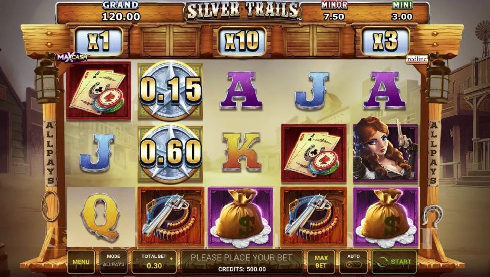 Silver Trails - Slot