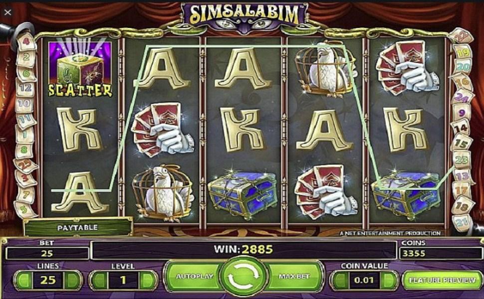 Simsalabim - Slot