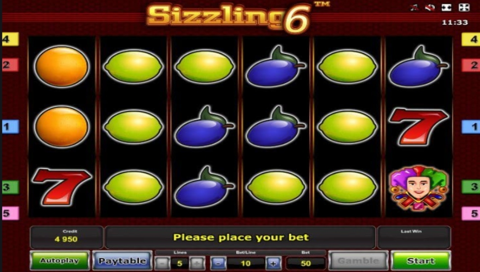 Sizzling 6 - Slot