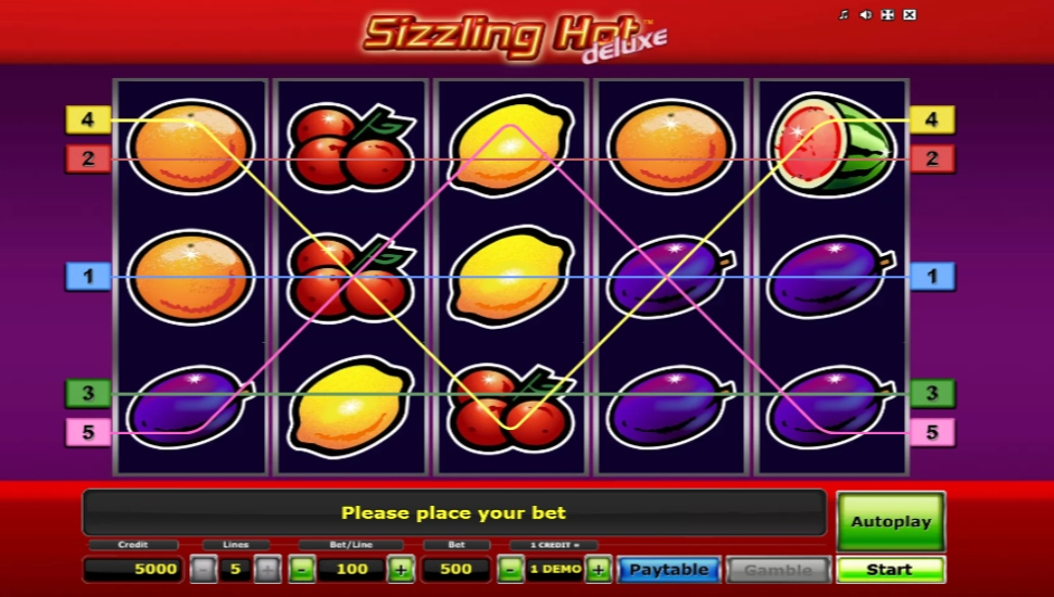 Sizzling Hot Deluxe - Slot