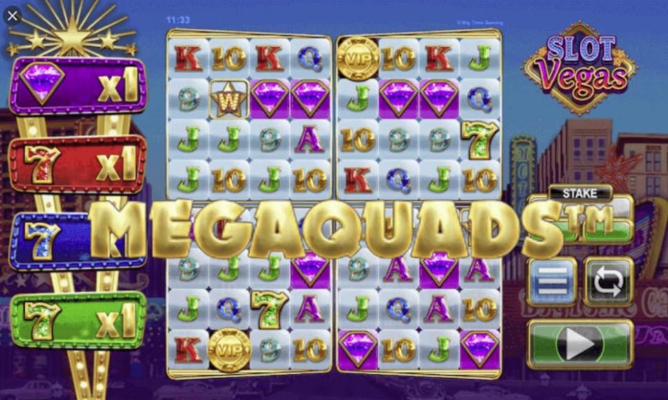 Slot Vegas Megaquads - slot