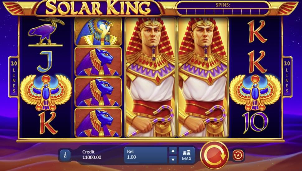 Solar king - Slot