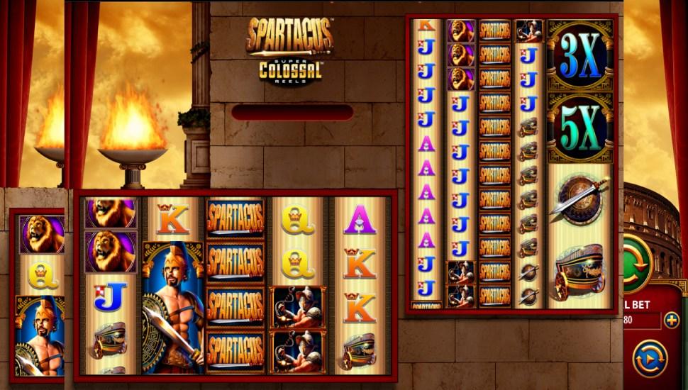 Spartacus Super Colossal Reels - Bonus Features