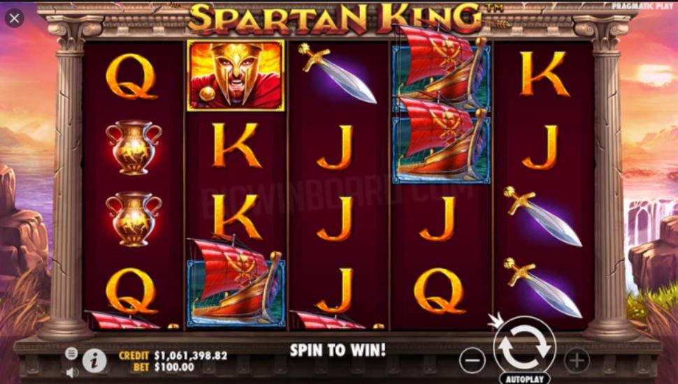 Spartan king - Slot
