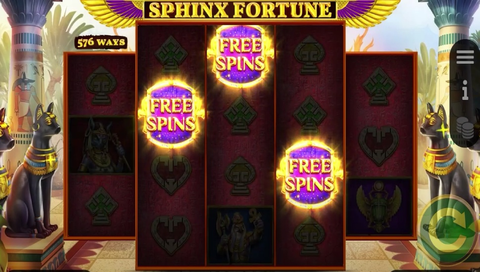 Sphinx Fortune Hold and Win - Bonus Features