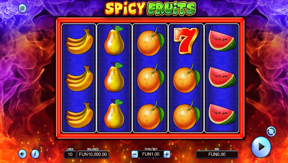 Spicy Fruits - Slot