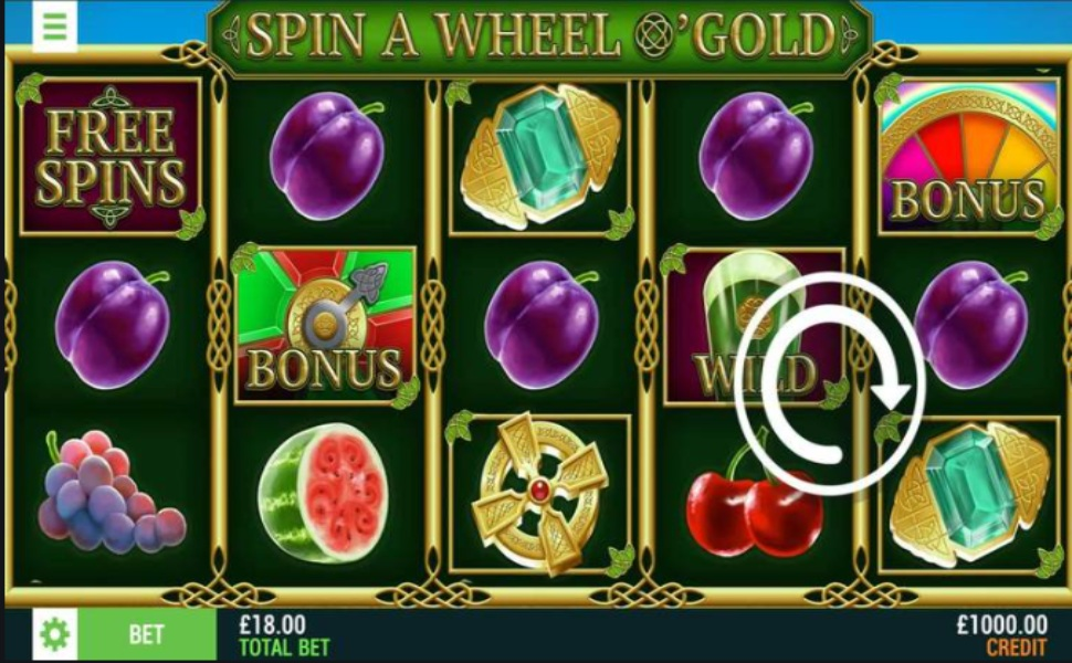 Spin A Wheel O'Gold - Slot