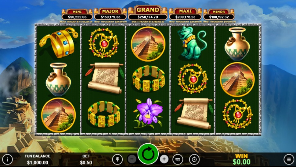 Spirit of the Inca Slot by Realtime Gaming