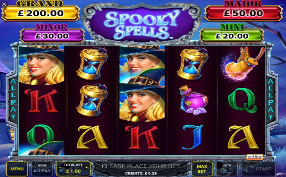Spooky Spells - slot