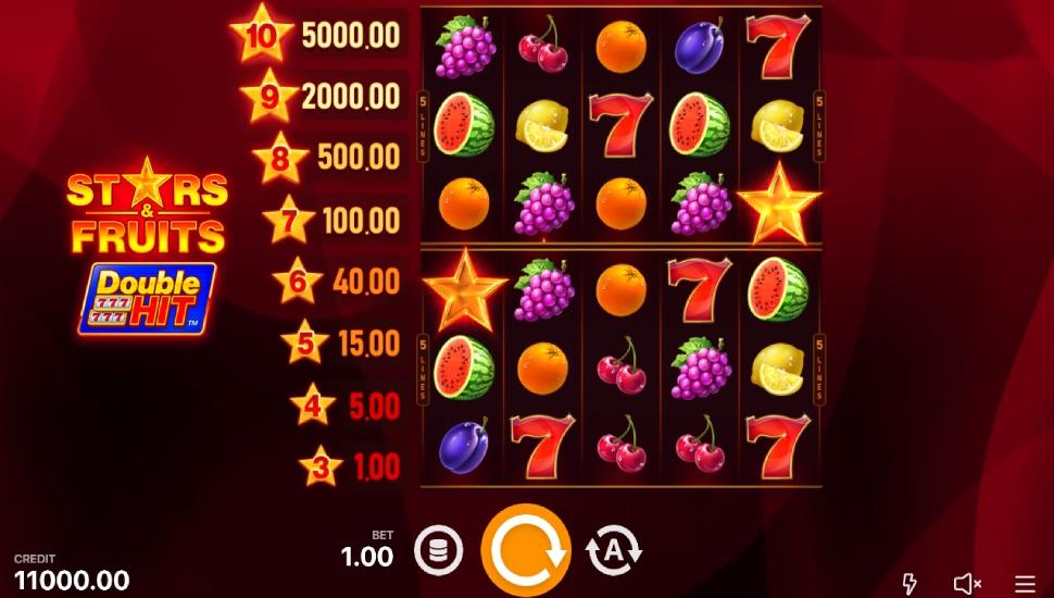 Stars & Fruits: Double Hit - Slot
