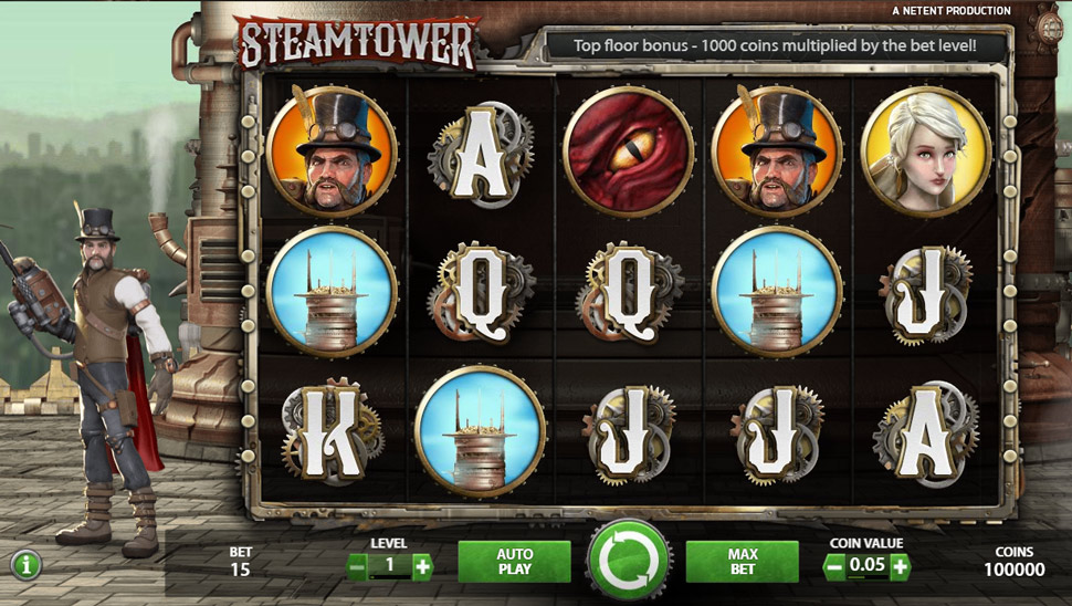 Steam Tower - Slot