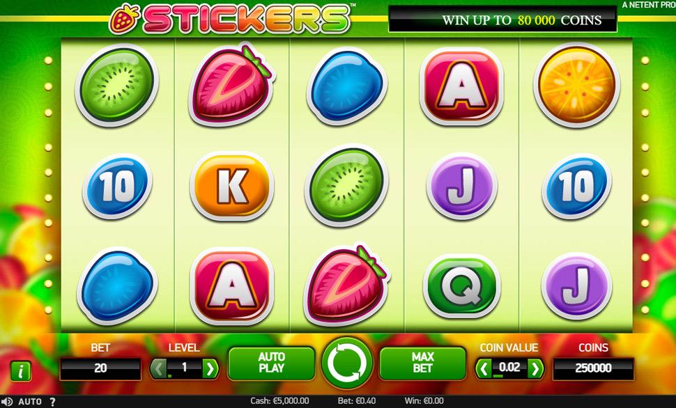 Stickers - Slot