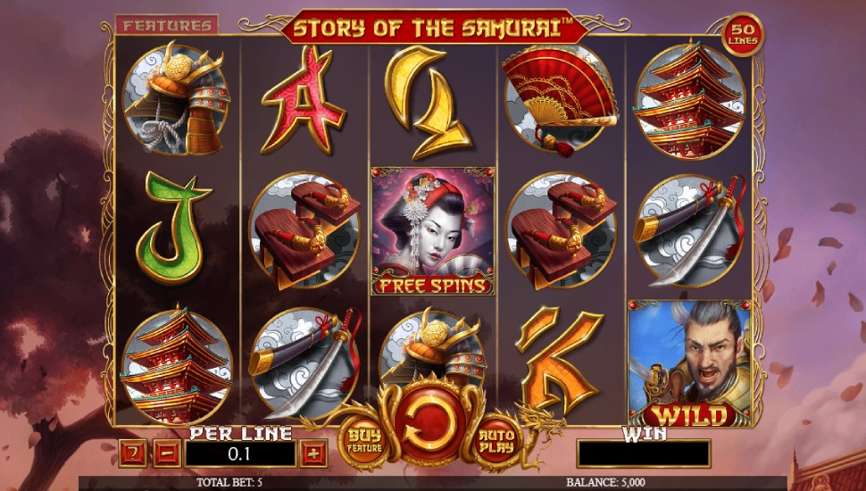 Story of the Samurai Slot by Spinomenal