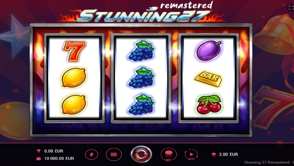 Stunning 27 Remastered - Slot