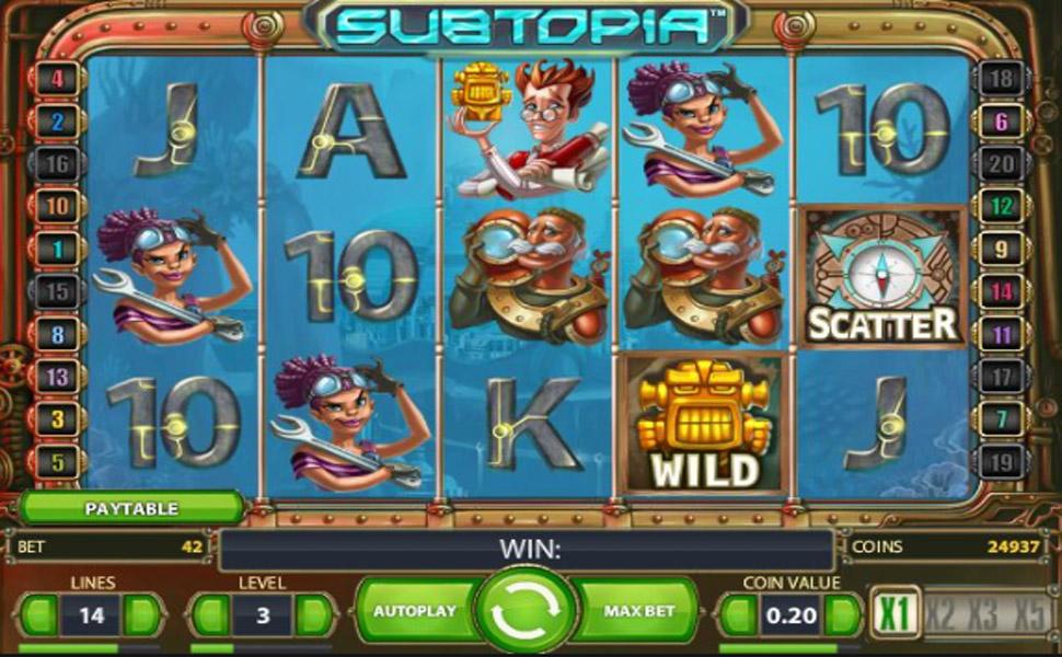 Subtopia - Slot