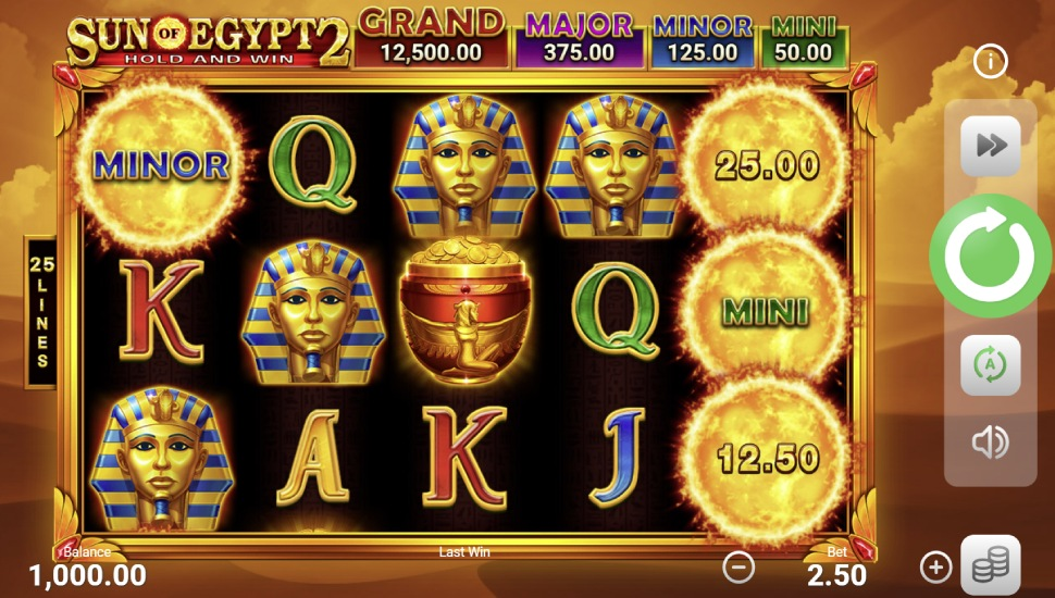 Sun of Egypt 2 Hold and Win - Slot
