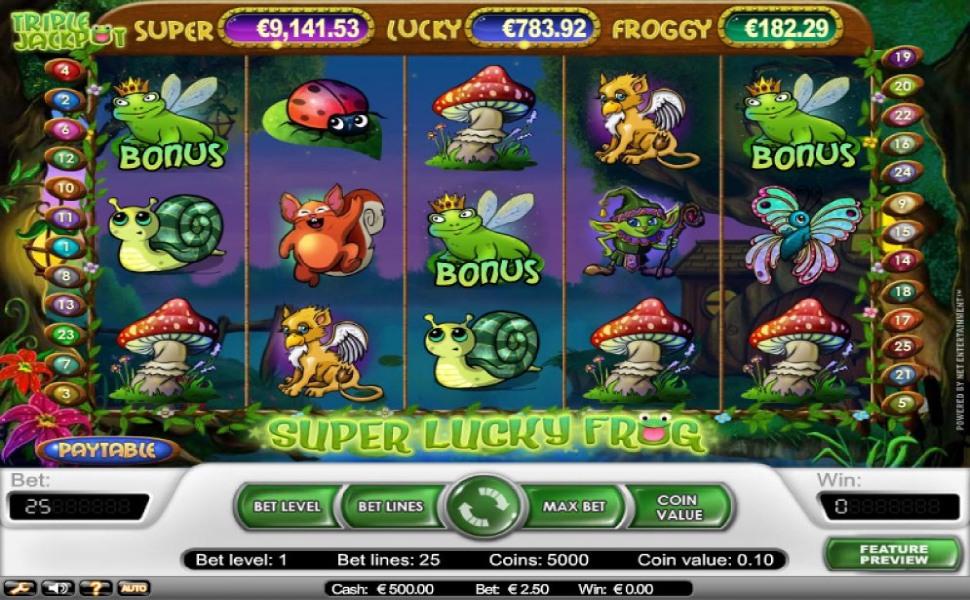Super lucky frog- Slot