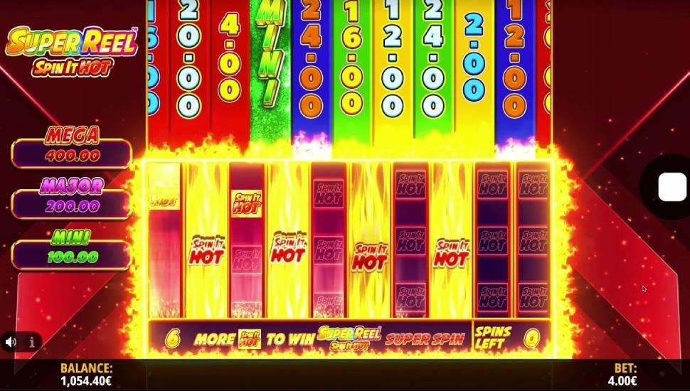 Super Reel Spin It Hot - Bonus Features
