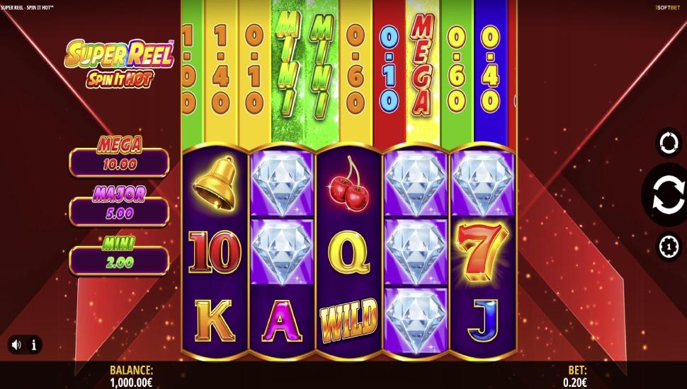 Super Reel Spin It Hot - Slot