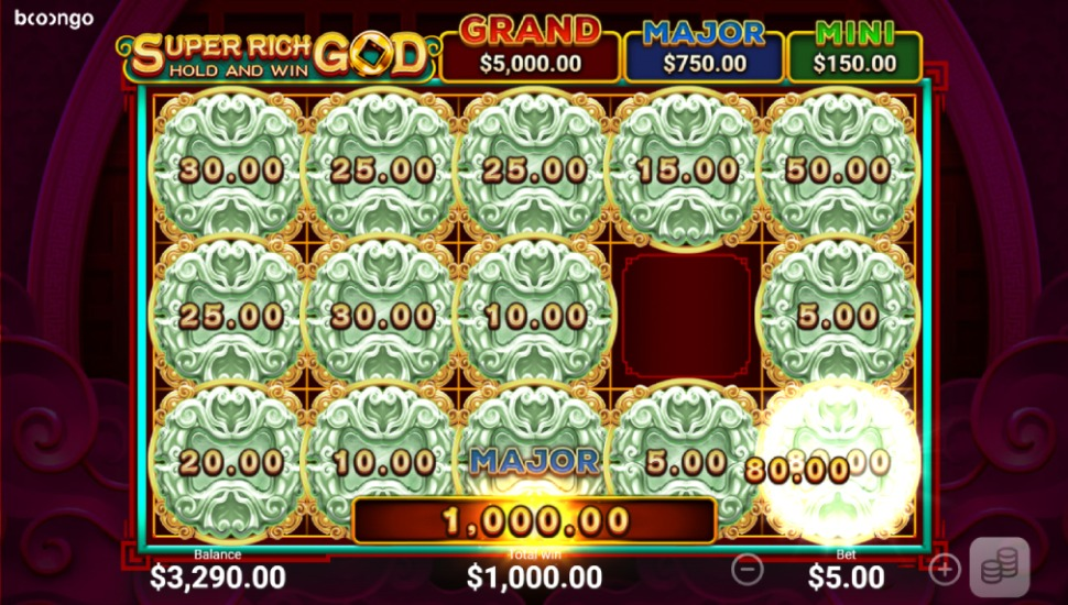 Super Rich God: Hold and Win - Bonus Features