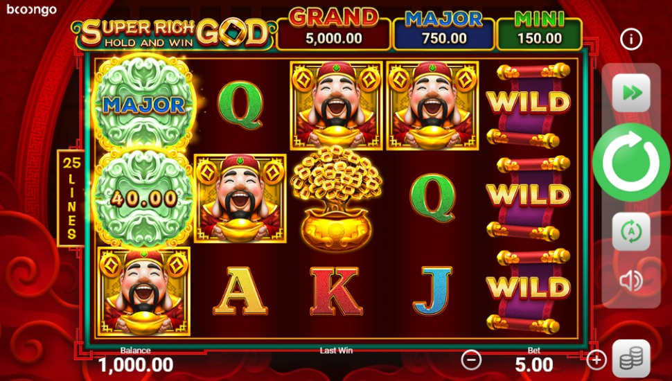 Super Rich God: Hold and Win - Slot