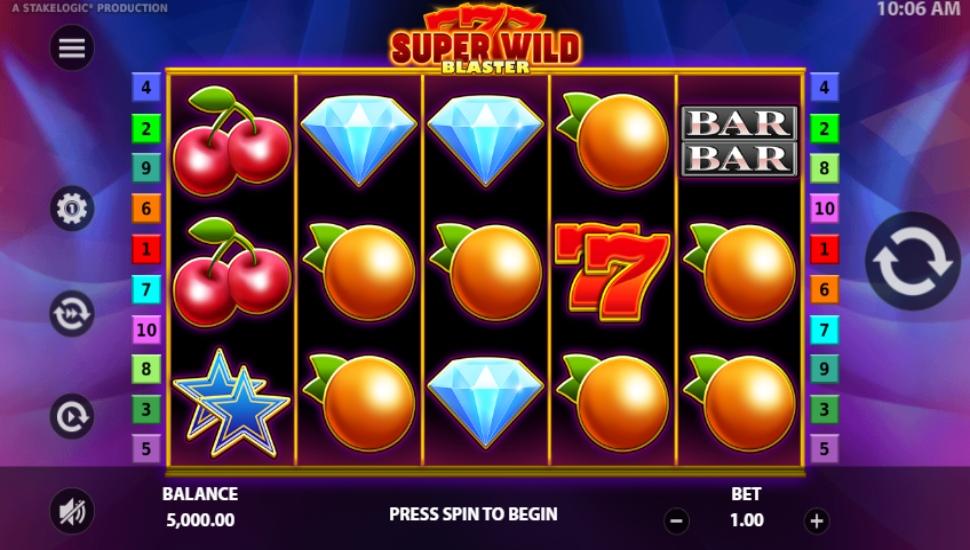 Super Wild Blaster - Slot