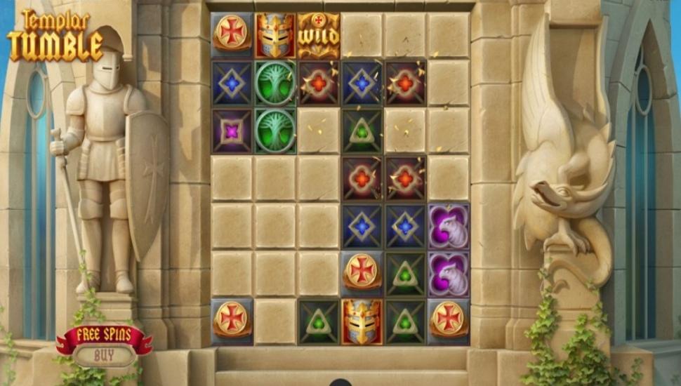 Templar Tumble - Slot