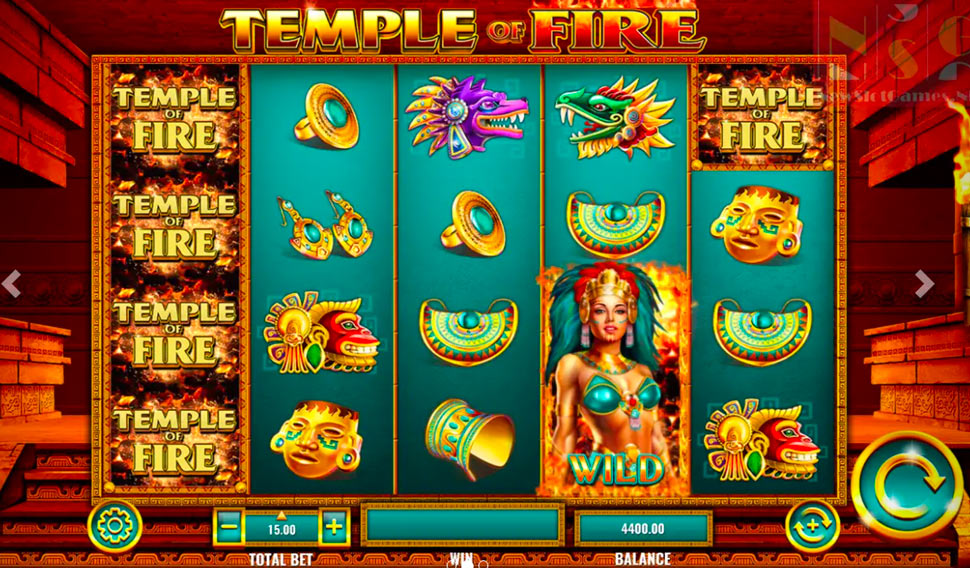Temple of Fire - slot