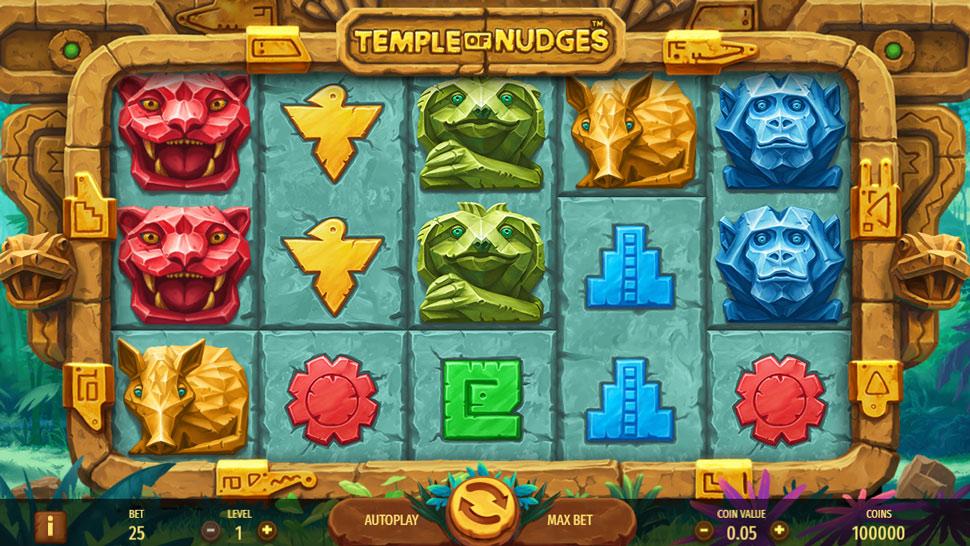 Temple of Nudges - Slot